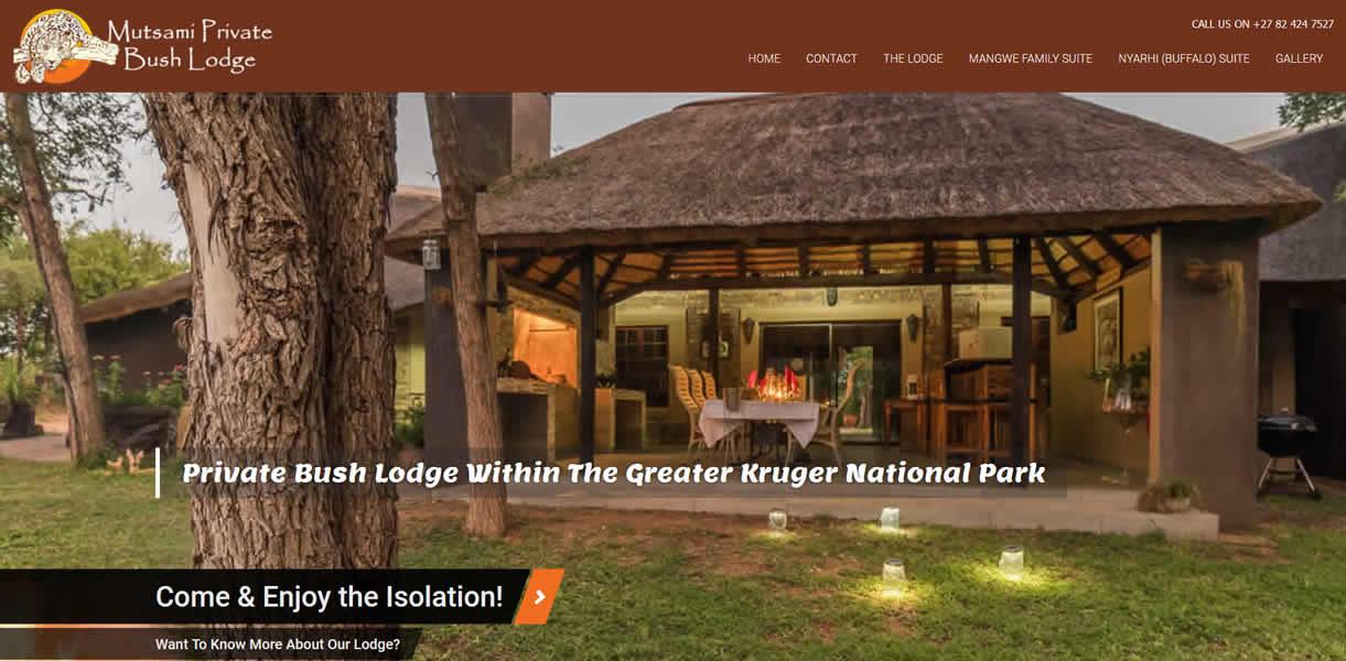 Mutsami Private Bush Lodge
