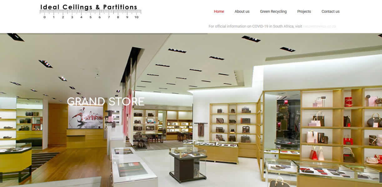 Ideal Ceilings & Partitions